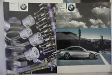BMW E46 OWNER MANUAL PACKAGE LEATHER CASE (2)