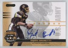 2010 Razor US Army All-American Bowl Autographs #BA-BB1 Barry Brunetti U.S. Auto