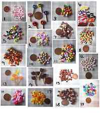 MINIATURE FOOD  candy sweets DOLL  1 packet