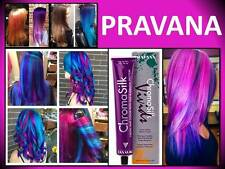 NEW PRAVANA CHROMASILK HAIR COLOR VIVIDS VIBRANT BRIGHT COLORS 3 OZ  CHROMA SILK