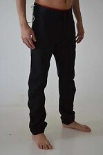 Mens Soul Star Chinos Slim fit Drop Crotch Jeans Buckle Cuffed Bottom Jogger