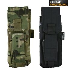 ARMY SINGLE MAG POUCH & PISTOL POUCH MOLLE AIRSOFT MTP BTP BLACK COYOTE WEBBING