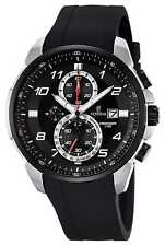 Festina Mens Chronograph Black Rubber Strap Black F6841/2 Watch - 8% OFF!