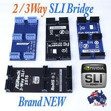 New 3-way or 2 way nVidia SLI Bridge Cable Connector Adapter