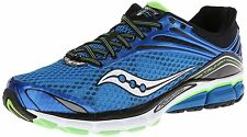 BRAND NEW SAUCONY MEN'S TRIUMPH II RUNNING SHOES BLUE/WHITE-WHITE/RED SZ 10-11.5