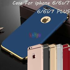 For iPhone 6 6S 7 / Plus  Luxury Ultra Thin Hybrid Slim Hard Case Cover