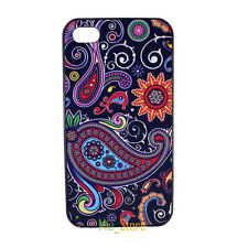 Vintage Paisley Pattern Floral Hard Back Case Cover for Apple iPhone 4 4S 5 5S