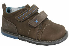 Timberland Hedgehop H&L Ox Brown Leather Toddlers Kids Boys Trainers 33870 D2