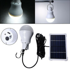 Portable 180lm 12 LED Solar Energy Charge Light Bulb Camping Emergency Lamp New