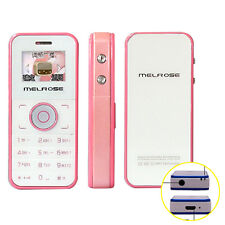 MELROSE M001 Lovely MP3 MP4 Bluetooth FM Data Encryption Mini Cell Mobile Phone