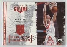 2005-06 Upper Deck Slam Dunk Swatches #SL-YM Yao Ming Houston Rockets Card