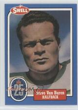1988 Swell Football Greats Hall of Fame #122 Steve Van Buren Philadelphia Eagles