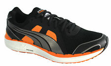 Puma Faas 500 NM Mens Black Mesh Lace Up Running Shoes Trainers 186268 02 D24