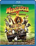 MADAGASCAR 2 ESCAPE 2 AFRICA (Blu-ray Disc, 2009)