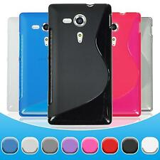 Silicone Case Sony Xperia SP - S-Style  + protective foils