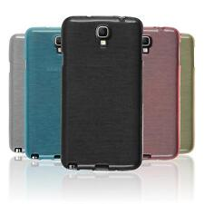 Silicone Case for Samsung Galaxy Note 3 Neo brushed  + protective foils