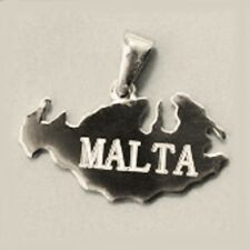Sterling Silver Maltese Cross pendants 7 designs to choose from. Made in Malta.