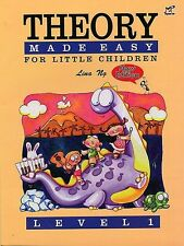 Lina Ng - Theory Made Easy for Little Children. Level 1 and 2 Available