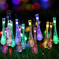 Outdoor Solar 30 LED String Light Garden Path Yard Landscape Patio Lamp Decor