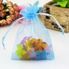100pcs Organza Candy Jewelry Gift Bags Wedding Party Favor Decor DIY Pouches