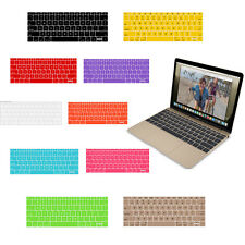 Hot Silicone US Keyboard Cover Skin For Apple MacBook Air Pro Mac Retina 12''