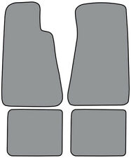 1991-1996 Buick Roadmaster Cutpile Carpet Logo Floor Mat without Snaps 4pc