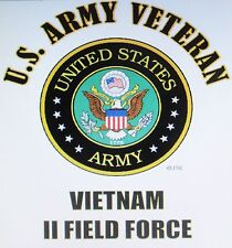 VIETNAM: U.S. ARMY VETERAN EMBLEM* NAME DROP U.S. MILITARY UNIT SHIRT LIST # 1