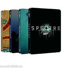 007 - DANIEL CRAIG COLLECTION + SPECTRE (4 BLU-RAY) EDITIONS STEELBOOK LIMITED