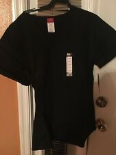 Scrubs Dickies EDS Empire Waist Top 815906 Black SIZE LARGE FREE SHIPPING!