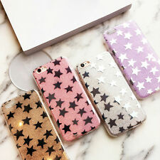 Luxury Bling Glitter Star Case For iPhone 7 Flashing Powder Hard PC Phone Cases