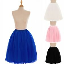 65cm 6 Layers Wedding Dress Bridal Hoop Petticoat Crinoline Underskirt Slips