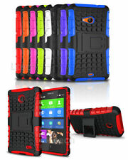 Apple iPhone 4 / 4S Shockproof Tough Hard Silicone Strong Case Cover with Stand