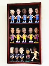 Bobble Head Bobblehead Doll Model Action Figure Cabinet Display Case Wall Rack