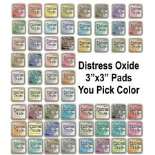 "Ranger Tim Holtz DISTRESS OXIDE Ink Pads- Single 3""x3"" Ink Pad Color (IN STOCK)"