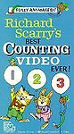 Richard Scarrys Best Counting Video Ever (VHS)