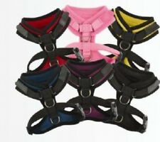 Puppia ADJUSTABLE Neck and Girth - Dog Harness SUPERIOR PINK - LARGE