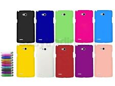 Hard Back Cover Case for LG L80 Dual D380 + Screen Protector + Stylus