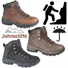Johnscliffe Mens Canyon Leather Hiking Boots Boys Hillwalking Trail Trek Shoes