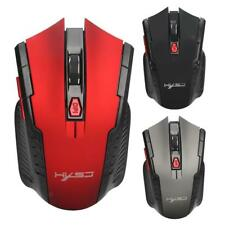 Wireless Mouse USB2.0 Optical 2400DPI Professional Gaming Mice for PC Laptop