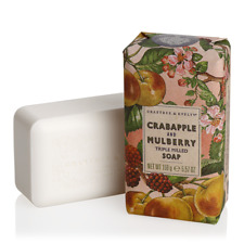 Crabtree & Evelyn Triple Milled Soap Bar 5.6 oz NEW + FREE SHIPPING on 3 or more