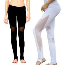 Sexy Women Yoga Pants Fitness Leggings Pants Gym Running Stretch Sports Trousers