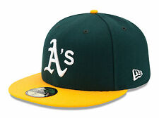 Oakland Athletics Game Home On Field 2017 Fitted Cap Hat All Sizes MLB New Era