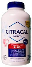 Citracal Calcium Citrate Maximum plus Vitamin D3, 280 560 or 840 Coated Tablets