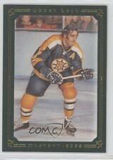 2008-09 Upper Deck Masterpieces Green Framed 83 Phil Esposito Boston Bruins Card