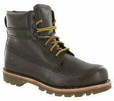 Caterpillar Colorado Boots Mudrick Leather Ankle Wide Lace CAT Mens Work Boots