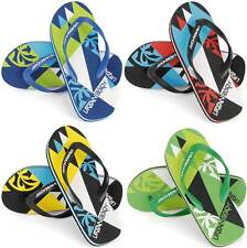MENS URBAN BEACH FLIP FLOPS SANDALS SIZE UK 6 - 11 HARLEQUIN FW550