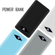 12000mAh LCD Display fast Charger Dual USB Port External Battery Power Bank