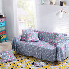 Nice Floral Polyester Sofa Cover Laul Couch Protector for 1 2 3 4 seater yjzrx