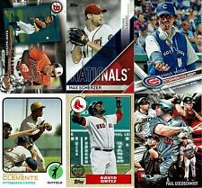 2017 TOPPS Series 1 INSERTS $1.00 each FREE SHIPPING BUY 6 GET 2 FREE