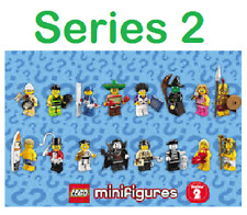 Genuine Lego Minifigure Series 2 8684 figures explorer, witch, ring master, spar